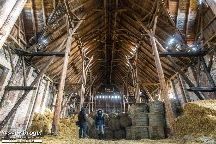 Zabytkowa stodoła w Kadynach