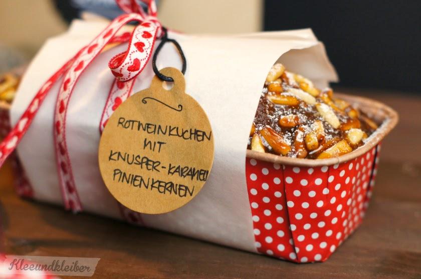 PAMK Xmas Rotweinkuchen