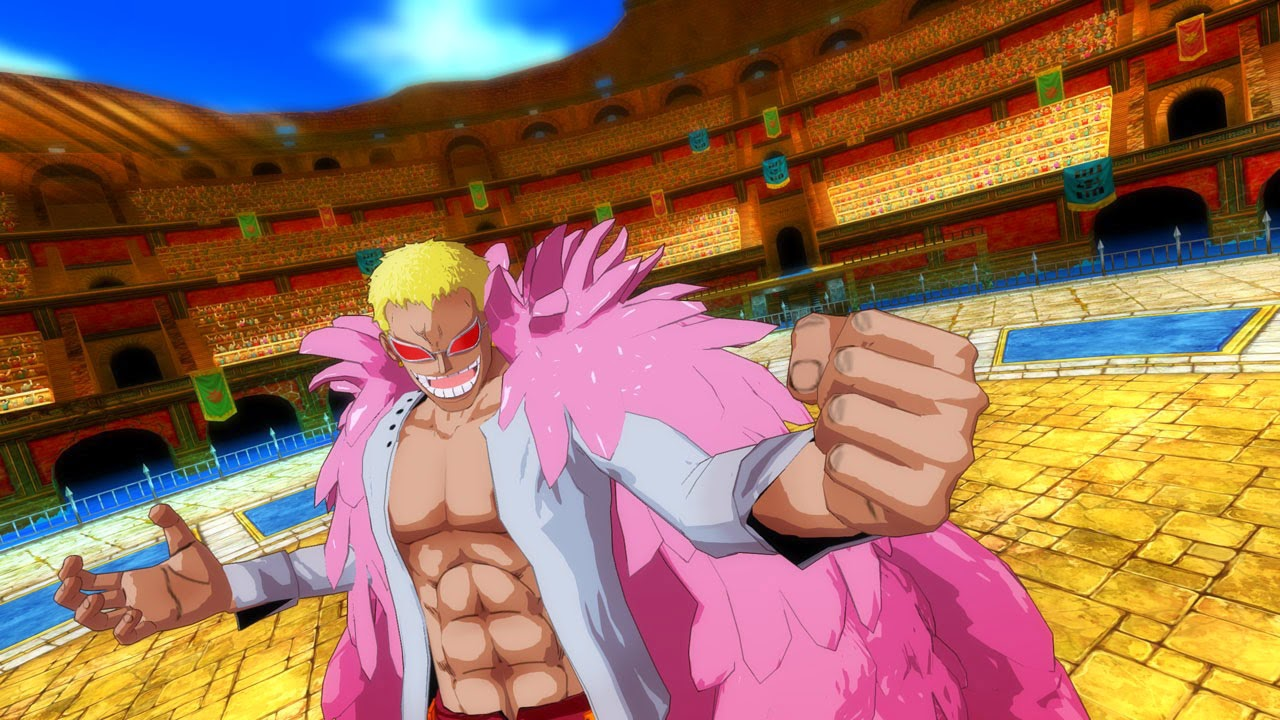 One Piece Unlimited World Red Coliseum Mode Doflamingo