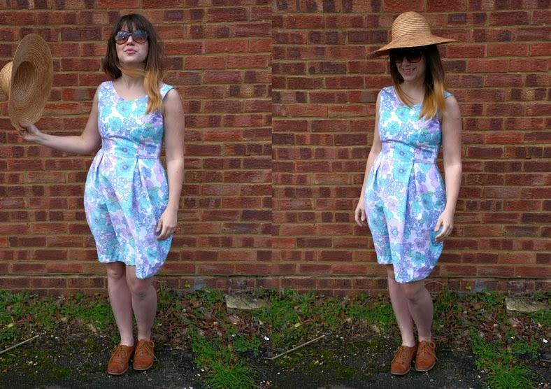 Spring Floral Elisalex Dress