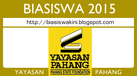 Biasiswa Yayasan Pahang 2015