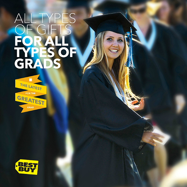@BestBuy Has The Latest For The #GreatestGrad: Gifts For Every Graduate Persona, and even Grad Gifts Under $50.