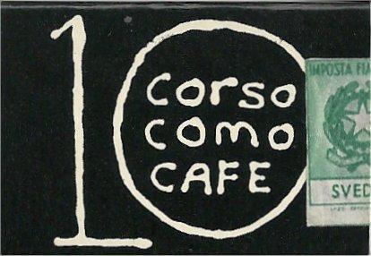 10 CORSO COMO CAFE MILANO