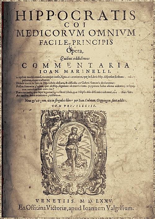 Bilderesultat for corpus hippocraticum