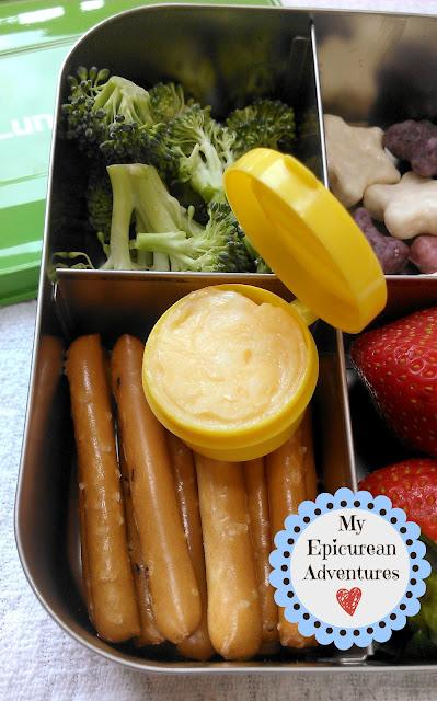 Homemade Handi-Snack using Homemade Velveeta Cheese (aka MOMveeta)