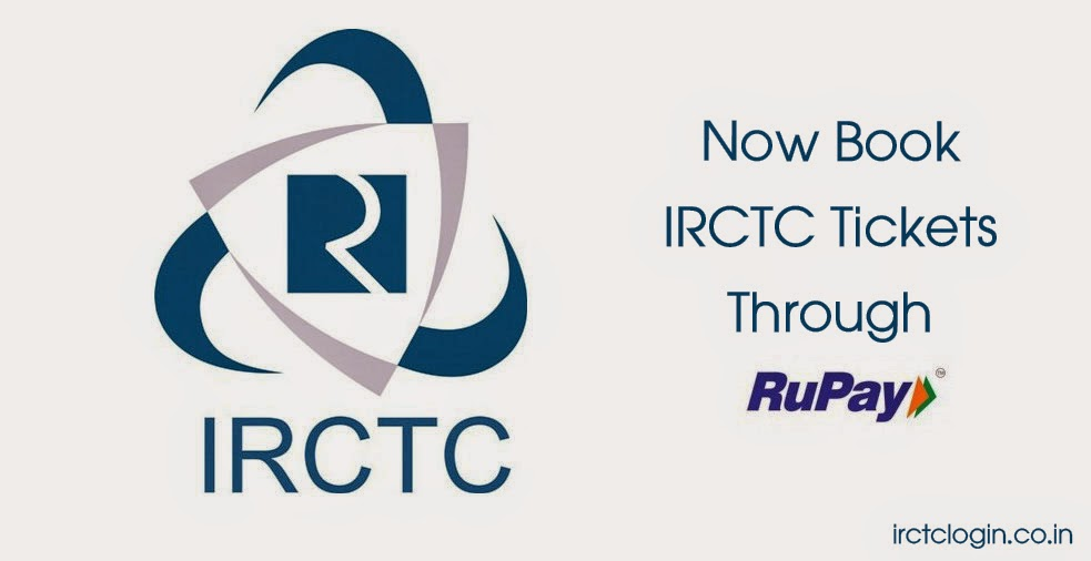Book IRCTC tickets with RuPay