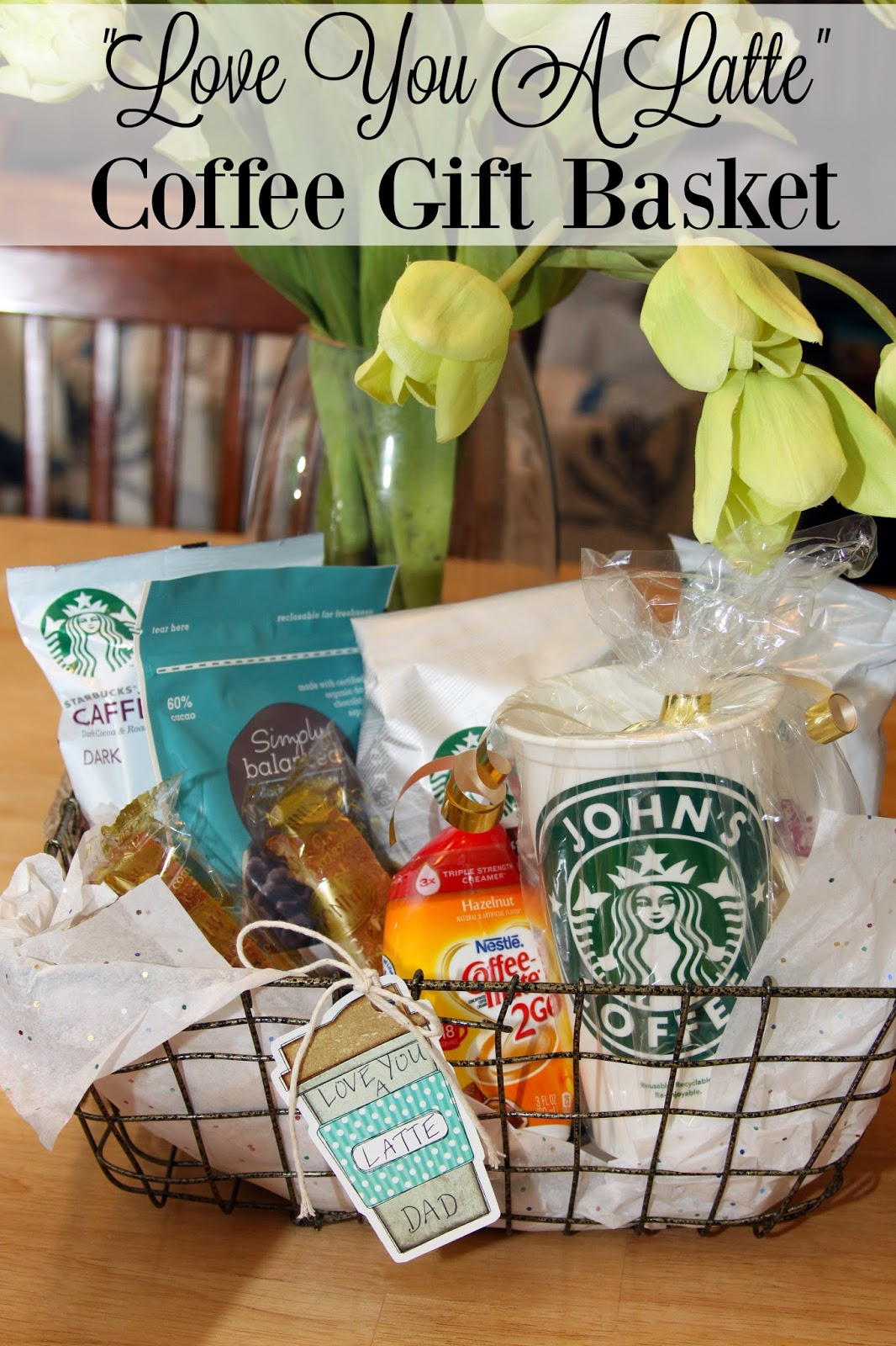 For the love of food ninja coffee bar and love you a latte gift ninja coffee bar and love you a latte gift basket negle Gallery