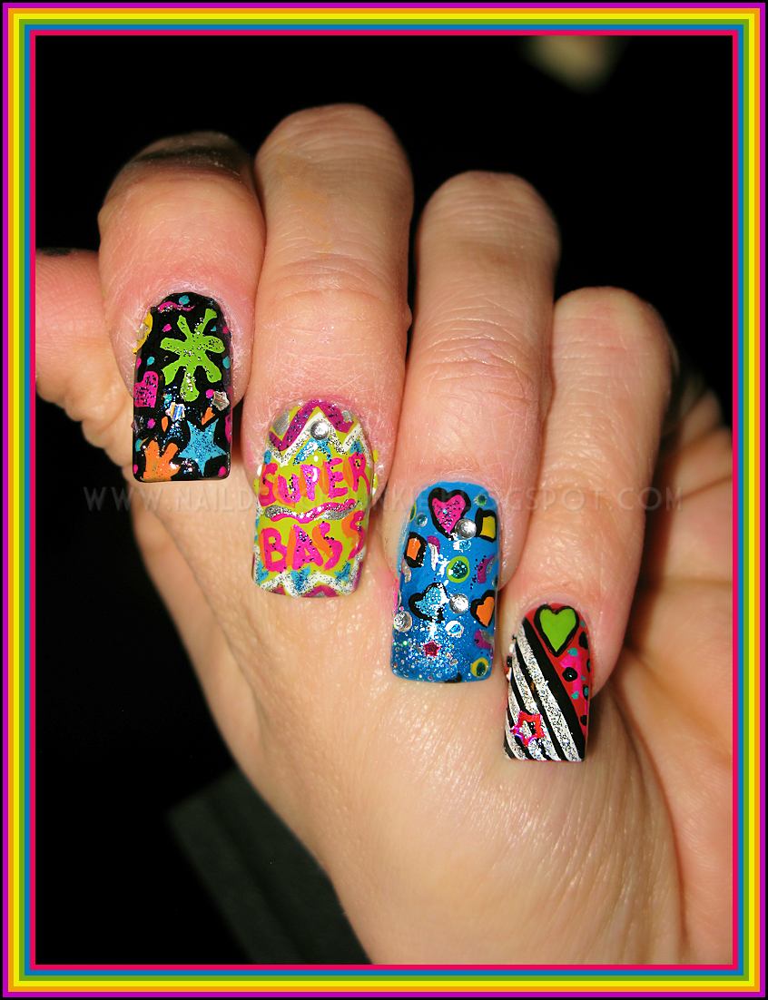 Nicki Minaj Nail Designs | Nail Designs, Hair Styles, Tattoos and ...