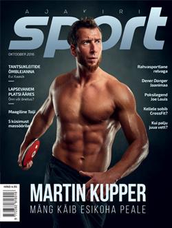 Kirjutan kolumni Ajakirja Sport!