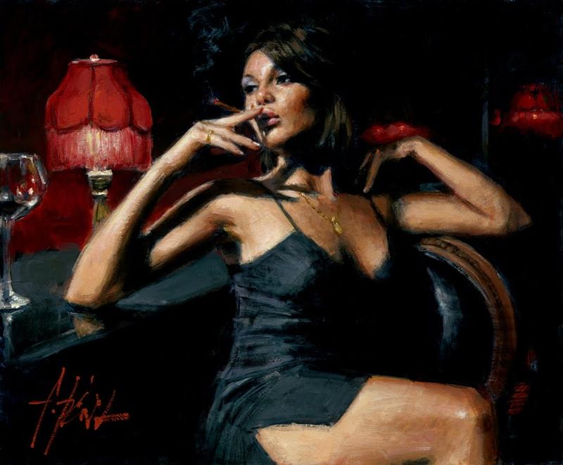Fabian Perez 1967 ~ Argentine Figurative painter | Reflections of a DreamFabian Perez 1967 ~ Argentine Figurative painter | Reflections of a Dream