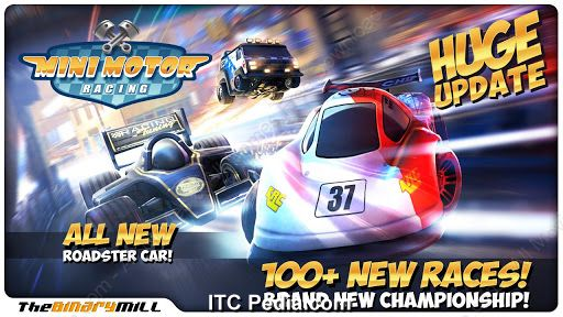 Mini Motor Racing v1.7.1 Android - Lz0PDA