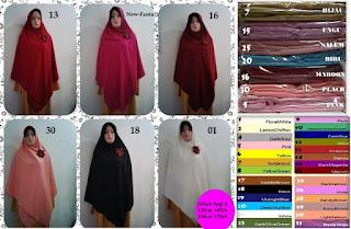 jilbab segi empat syari