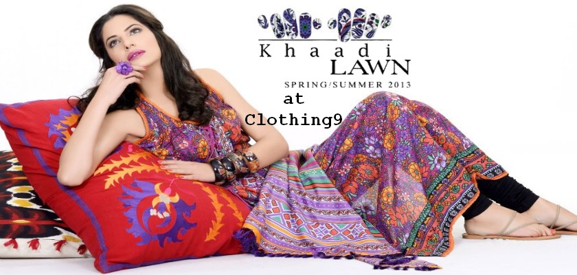 Khaadi Summer Collection 2013 Magazine Summer Magazine 2013