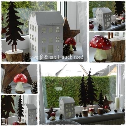 Wei ein hauch ros weihnachtsdeko teil 4 - Weihnachtsdeko fensterbank ...