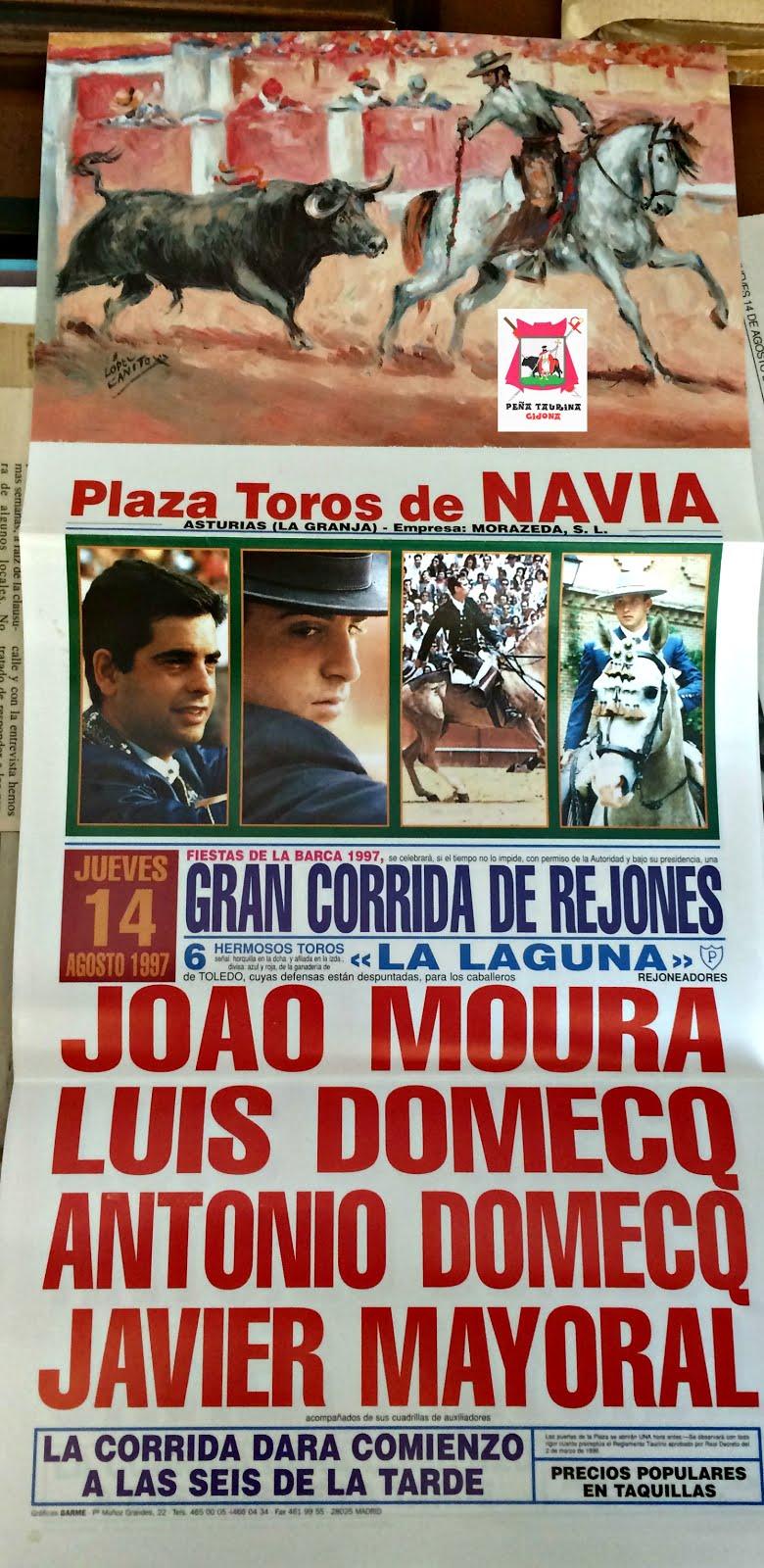 CARTEL DE TOROS DE NAVIA