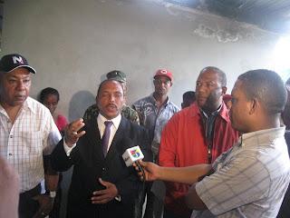 Gobernador Julio César Díaz dejó iniciados los trabajos de reparación de los caminos vecinales de la zona norte de San Cristóbal