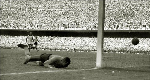 Gol do título Uruguai copa do mundo 1950