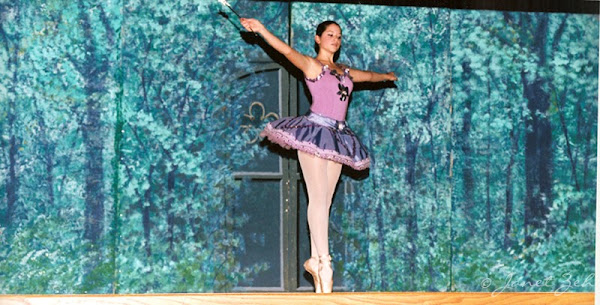 Sugar Plum Fairy dance in Sleeping Beauty ballet