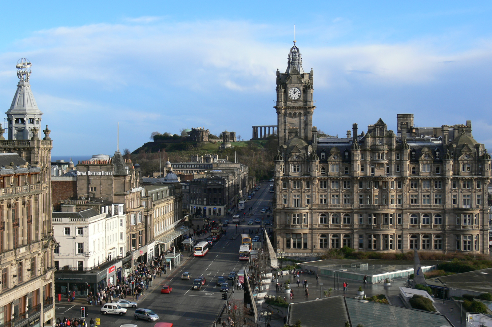 Edinburgh Scotland Tourist Destinations