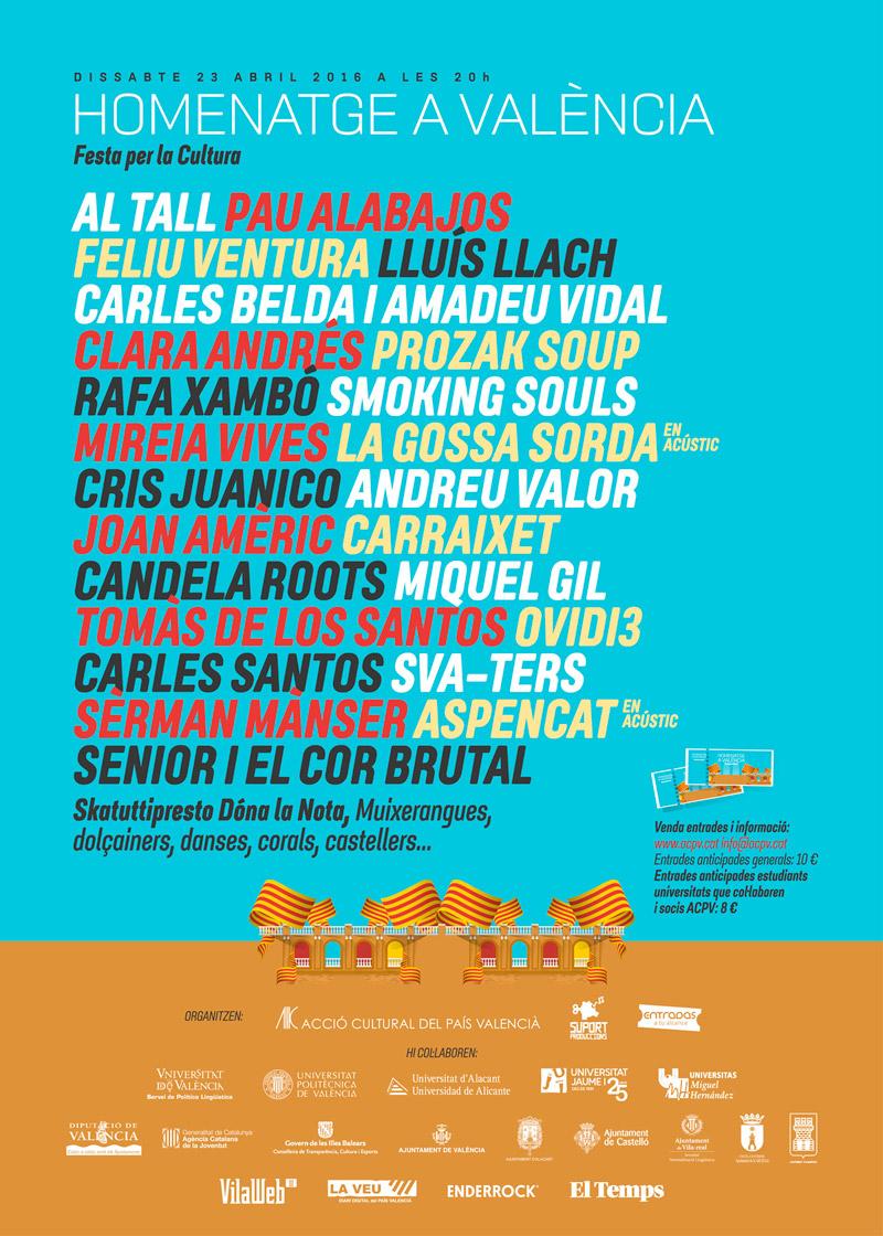 FESTA PER LA CULTURA 23 d'abril a la plaça de bous de València