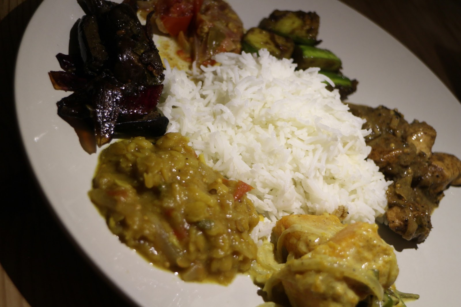 Home cooking sri lankan rice and curry 6 dishes plus rice living in sin - Six alternative uses of rice at home ...