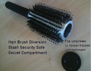 Hair Brush Safe