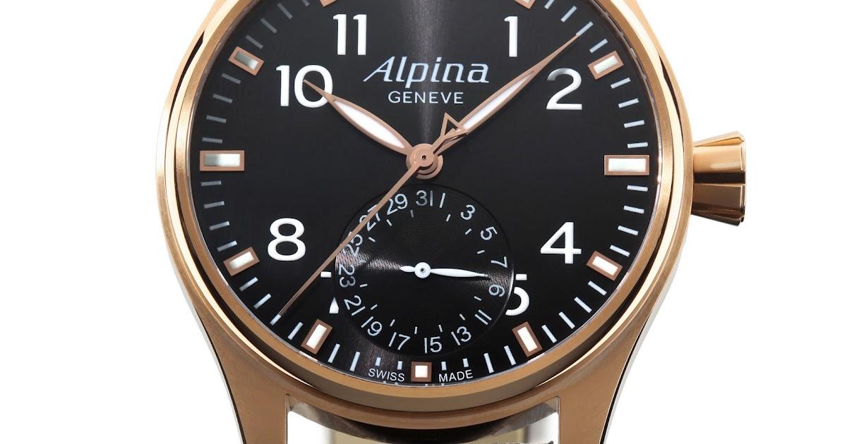 Jewelry News Network: Alpina Unveils Startimer Pilot ...