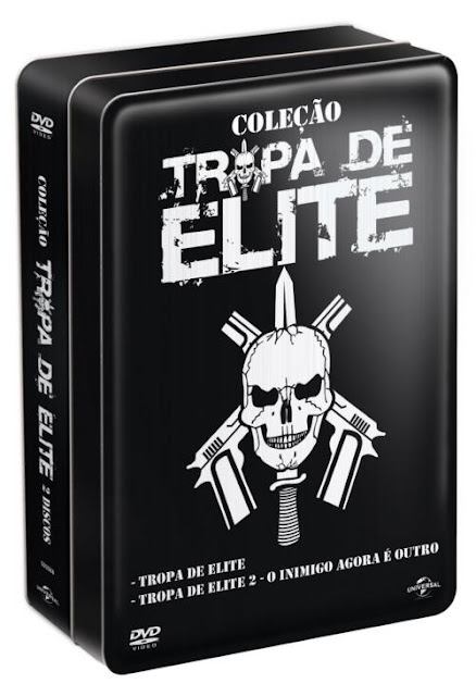 lata tropa de elite DVD
