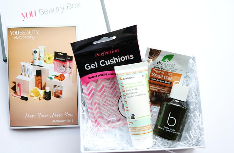 Beauty Box: You Beauty Box - January 2016 review