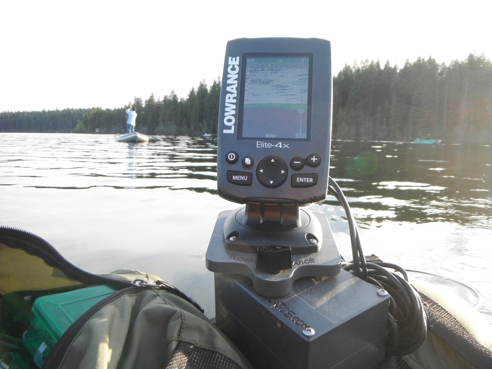 fish finder and transducer mounting solutions fish finder