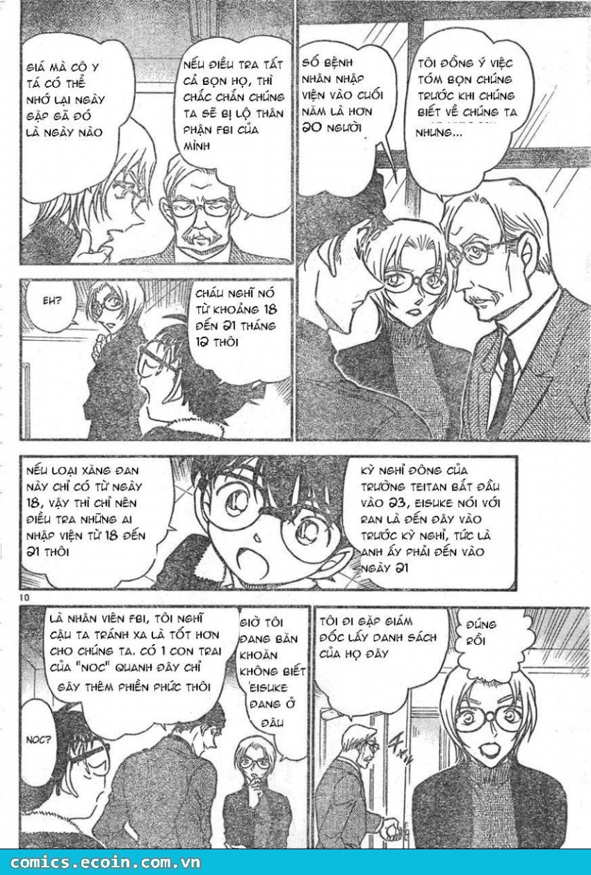 Detective Conan - Thám Tử Lừng Danh Conan chap 596 page 10 - IZTruyenTranh.com