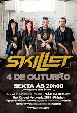 Skillet Brazil tour 2013
