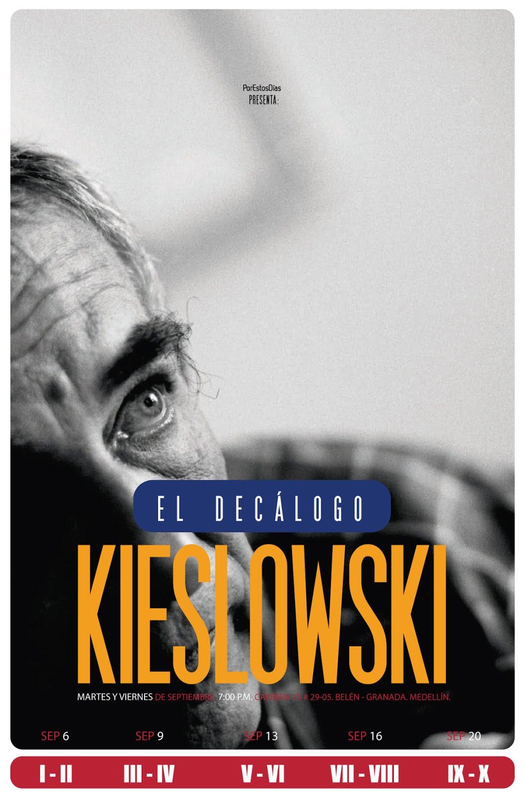 EL DECÁLOGO KIESLOWKI