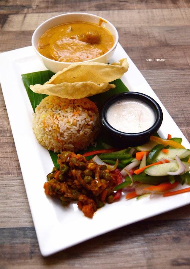 Chicken Makanwala + Pulao Rice - RM24