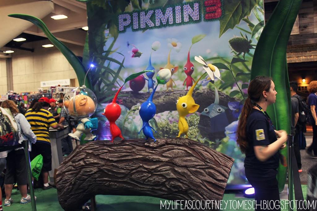 San Diego Comic Con 2013 Pikmin