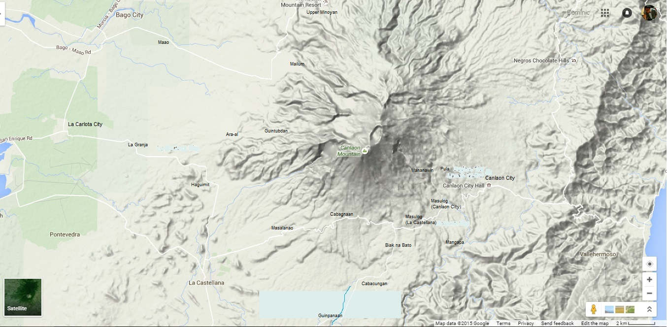 fig 2 kanlaon volcano and its vicinities