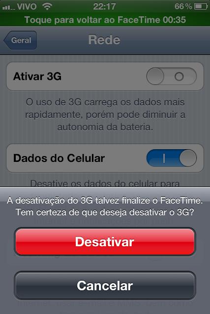 FaceTime - 3G