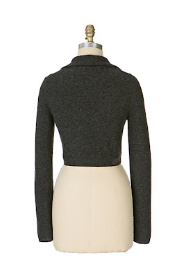 Anthropologie Rive Gauche Cropped Cardigan