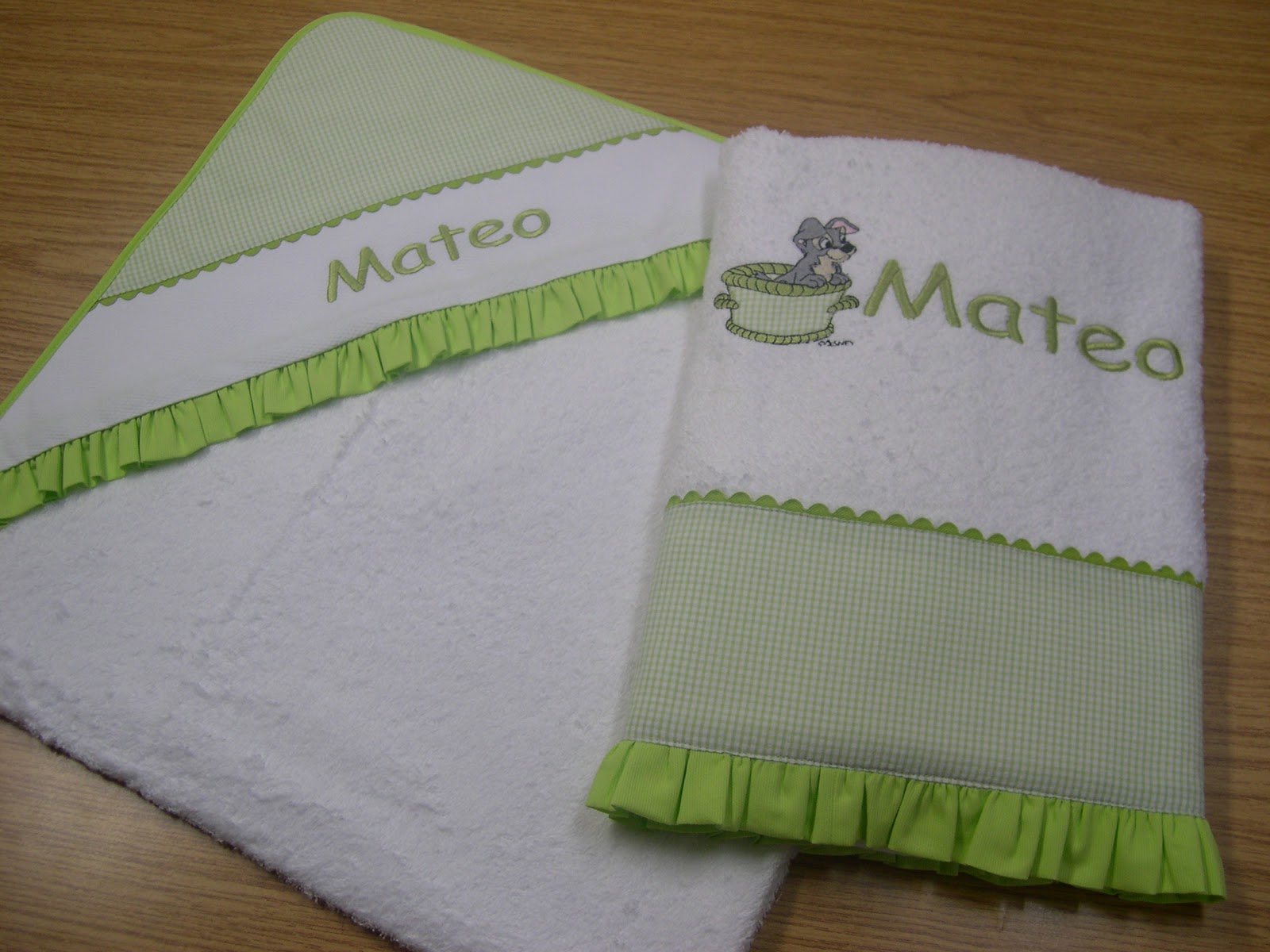 Bordaym s complementos infantiles sacos personalizados - Toallas infantiles personalizadas ...