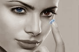 purchasing contact lenses