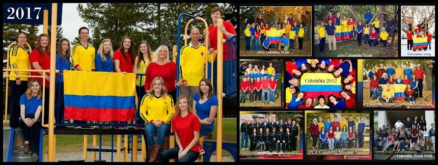 PCA Colombia Teams