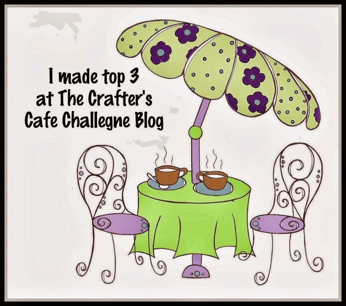 3 x The Crafter's Cafe Top 3