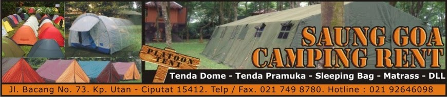 Rental Tenda Kemping