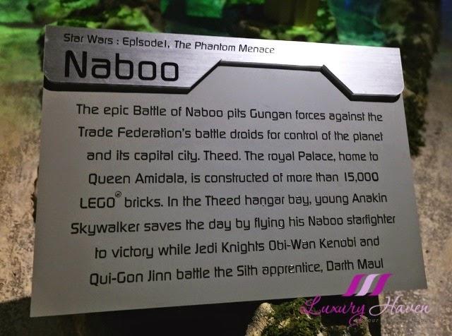 lego star wars miniland model display naboo battles