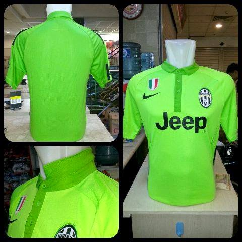 Photo jersey juventus third official terbaru musim 2015