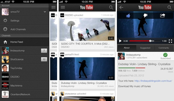 Download Updated Version of YouTube for iOS