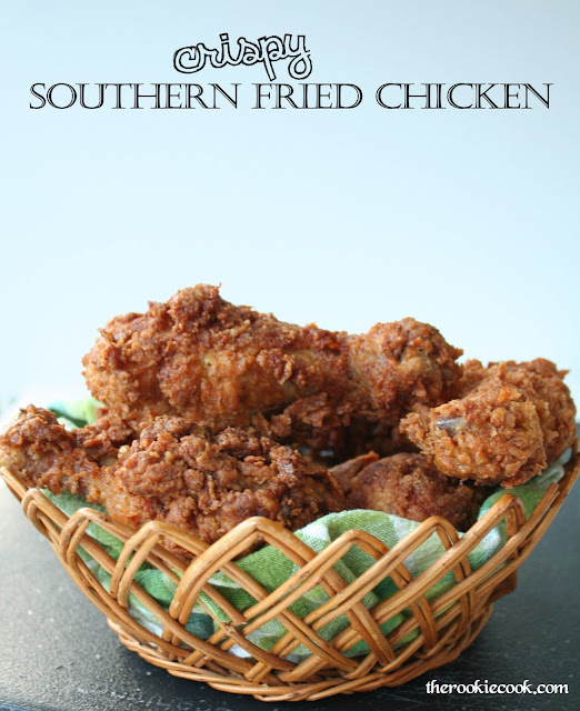 Crispy Southern Fried Chicken ~ The Rookie Cook
