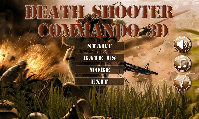 Death Shooter Commando
