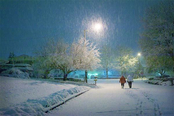 fotografía días de nieve