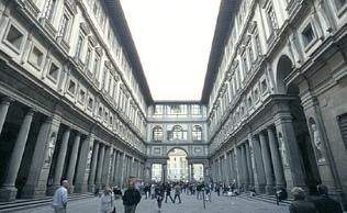 Uffizi Galerisi Müzesi Floransa